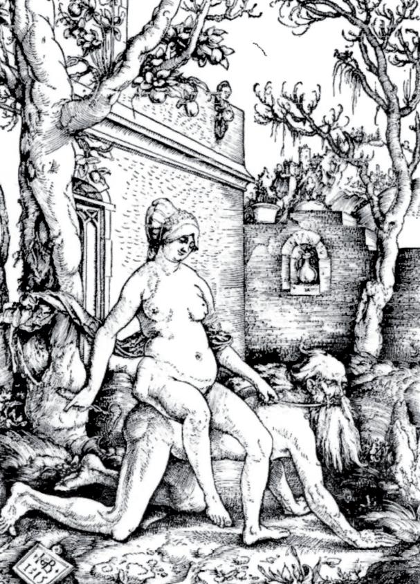 Hans Baldung Grien, Fillide e Aristotele