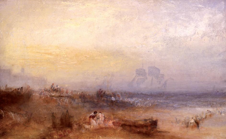 Joseph Mallord William Turner, La mattina dopo il naufragio, 1835 circa