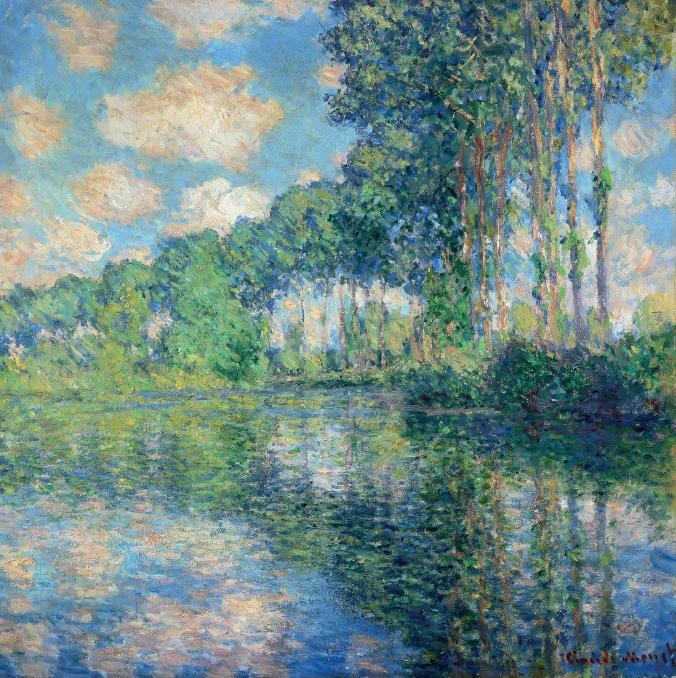 Monet, Pioppi lungo l'Epte, 1891