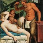 Agostino Carracci – Il satiro scandagliatore o Pendolino