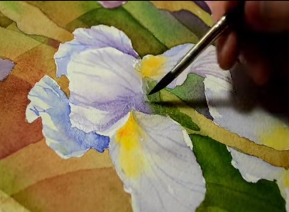 Famoso Disegnare dipingere gli iris – Consigli e tanti tutorial – Stile Arte BC18