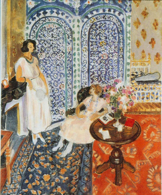 Henri Matisse, Il paravento moresco, 1921, Philadelphia Museum of Art. Lascito di Lisa Norris Elkins, 1950 © Succession H. Matisse by Siae 2015 - Photo © Philadelphia Museum of Art
