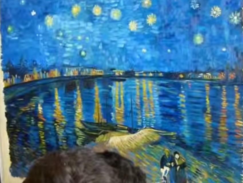 Dipingere come van gogh tanti tutorial stile arte for Quadri famosi da colorare van gogh