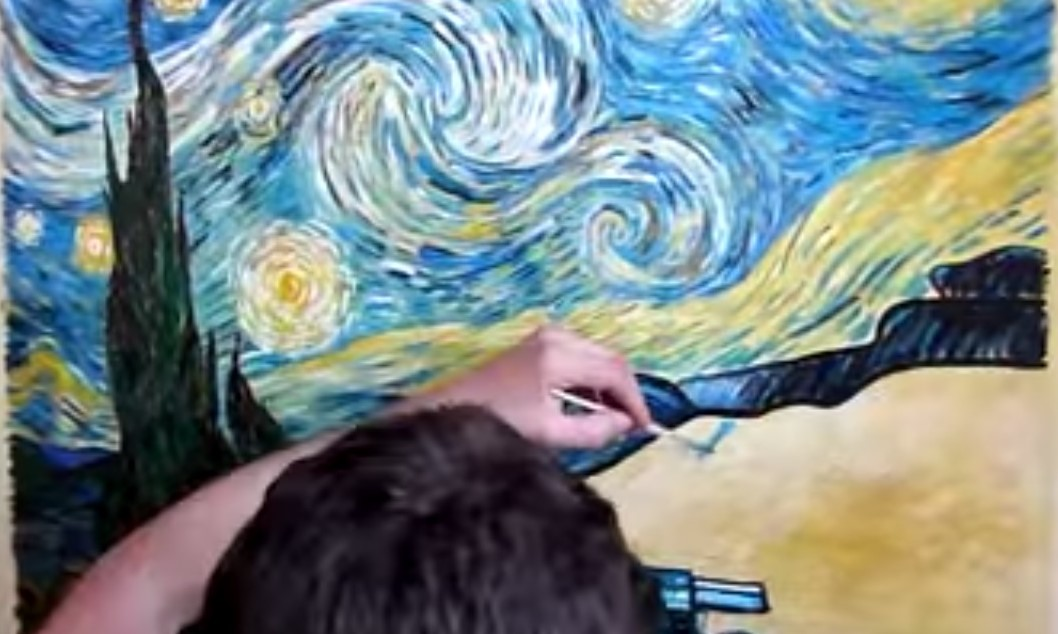 Dipingere come van gogh tanti tutorial stile arte for Van gogh notte