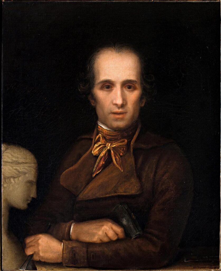 Antonio Canova: Autoritratto come scultore, 1799, olio su tela,73 x 60