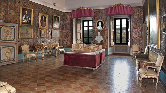Ariccia, Palazzo Chigi, Sala Albani 2