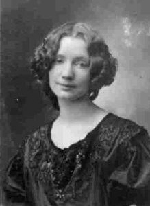 La pittrice Gerda Wegener
