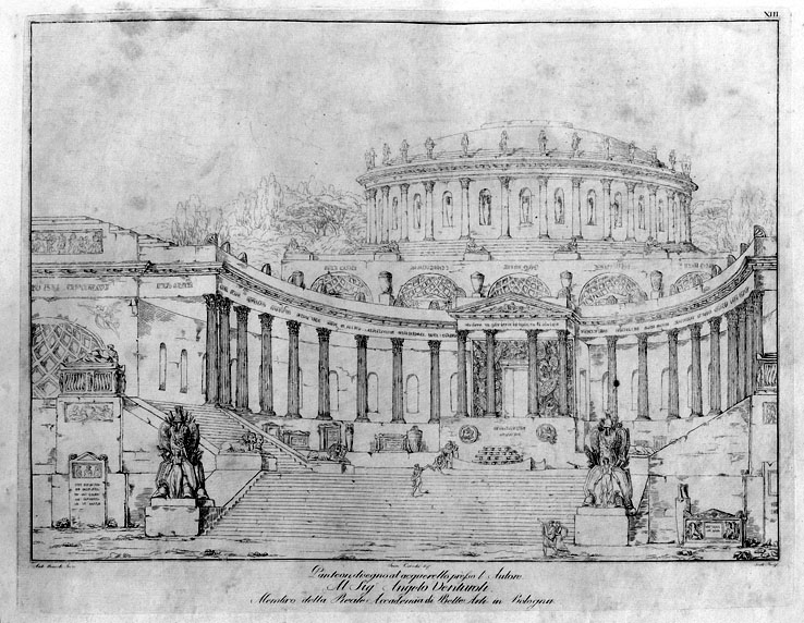 Antonio Basoli (1774 - 1848), Pantheon, 1810