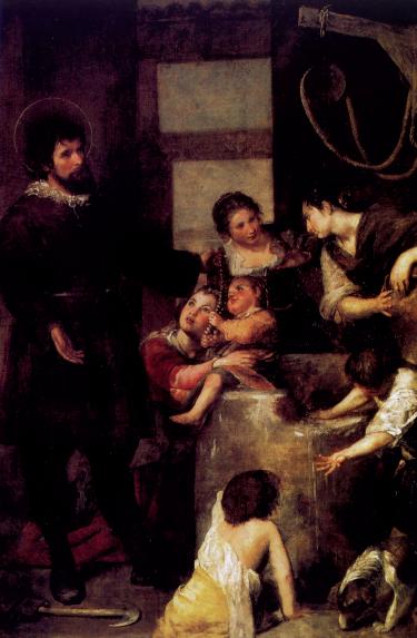 Alonso Cano, Sant'Isidoro agricoltore e il miracolo del pozzo