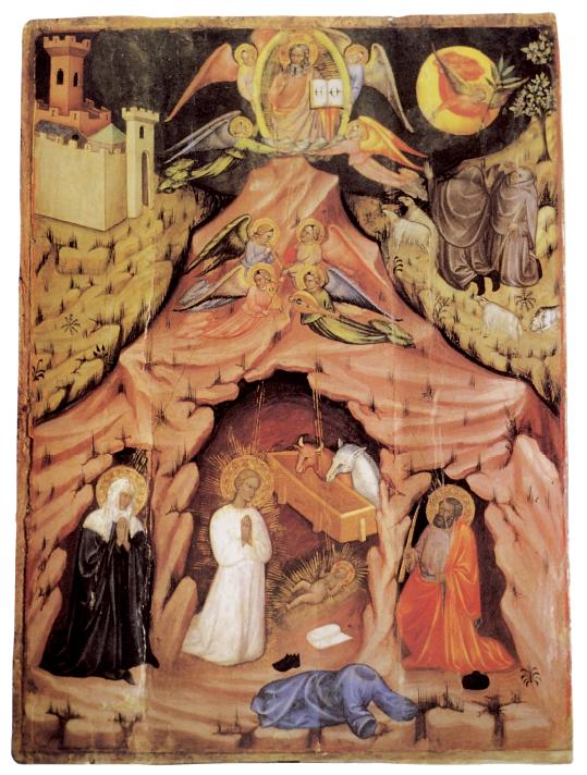 Scuola pisana, Visione di santa Brigida