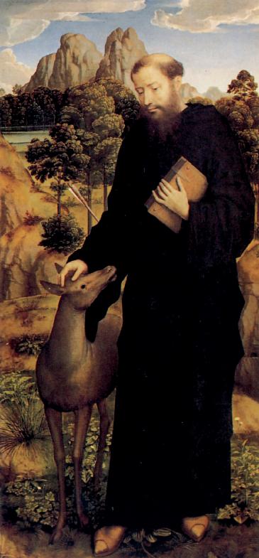 Hans Memling, Sant'Egidio abate