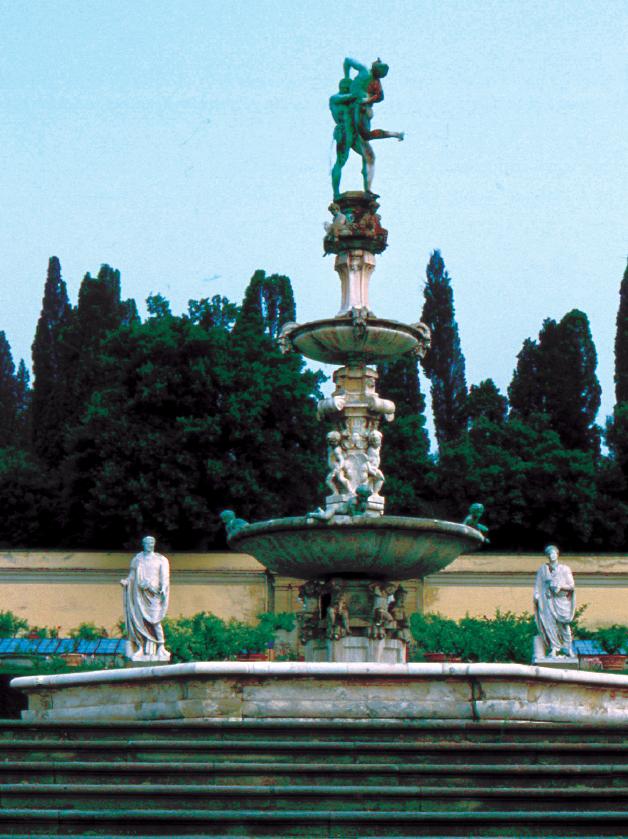 Fontana di Ercole (Villa Medici di Petraia), opera realizzate da Niccolò Tribolo e dagli aiuti, tra i quali figurava Pierino da Vinci