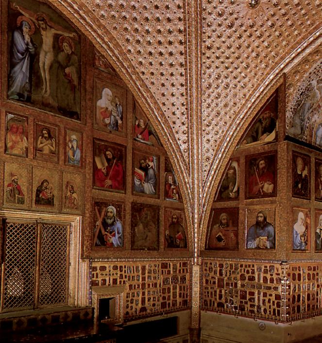 """Maestro Teodorico, """"Ritratti dell'esercito di Cristo"""", 1360-1365 ca. Praga, Castello di Karlstejn, cappella della Santa Croce"""