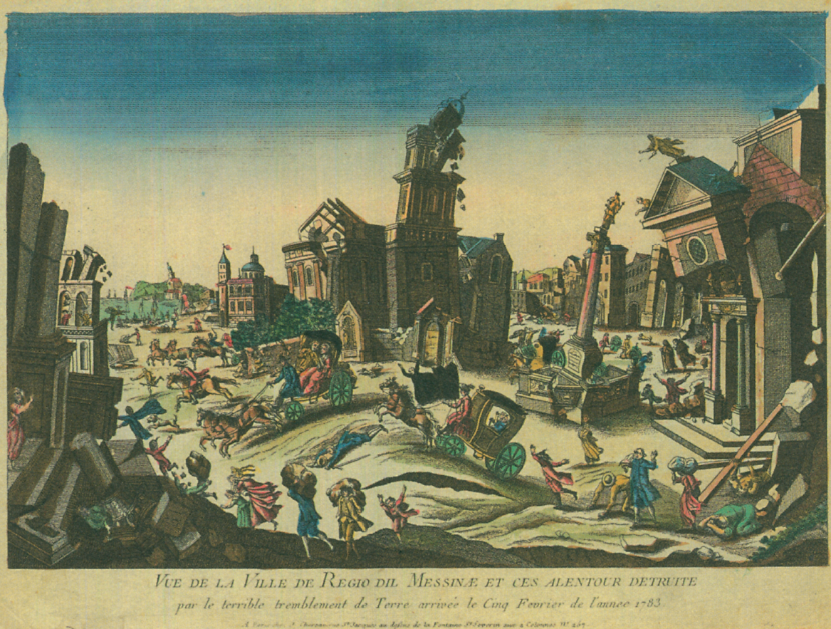 Il terremoto del 1783: La città di Reggio Calabria