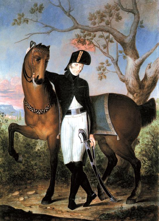 """Giambattista Gigola, """"Ritratto del conte Girolamo Fenaroli"""""""