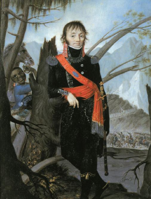"""Giambattista Gigola, """"Ritratto del conte Giuseppe Lechi"""""""