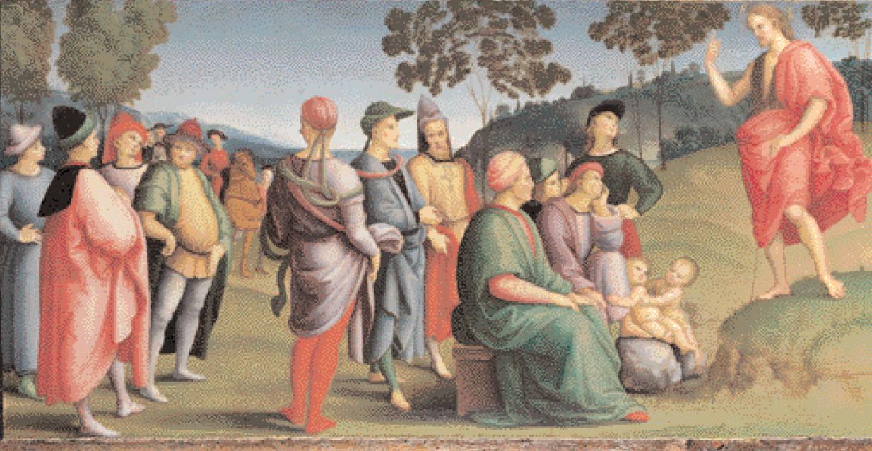 """""""Predica di San Giovanni Battista"""""""