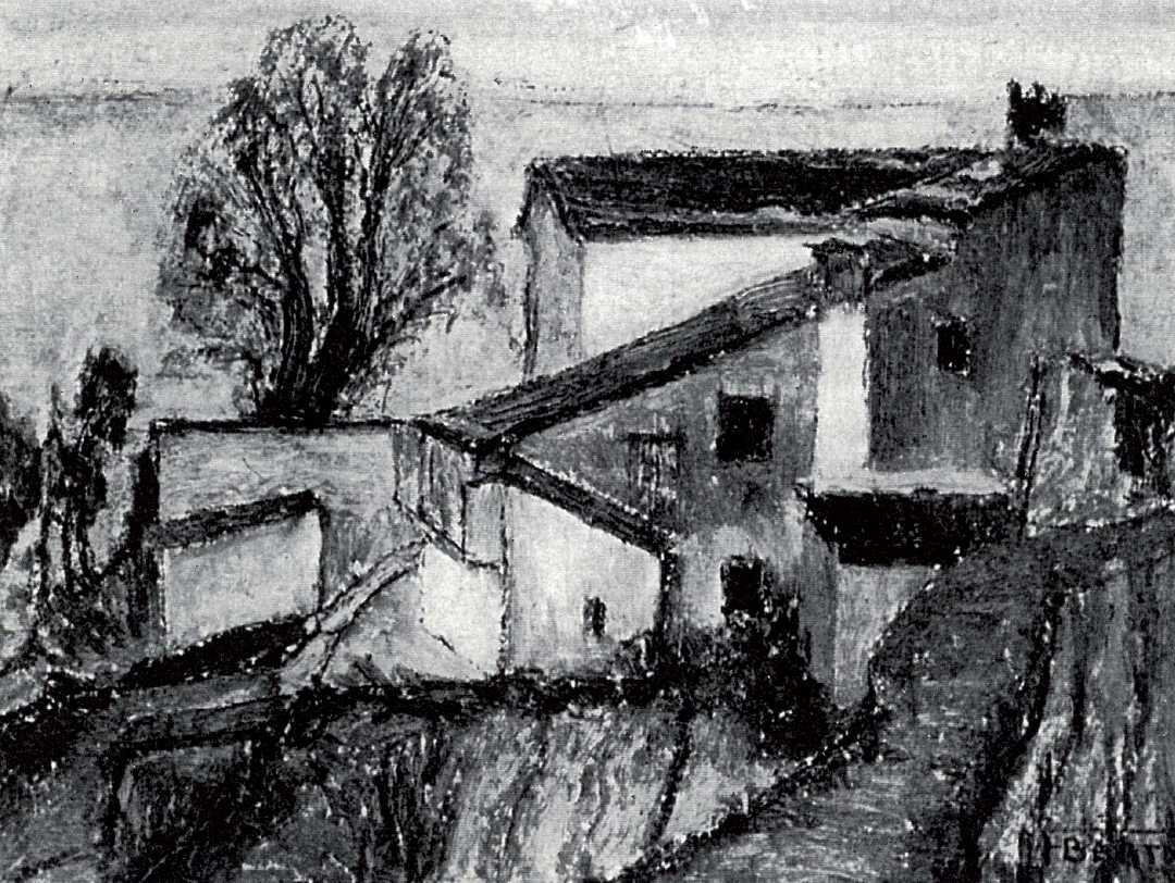 "Fausto Bertoli, ""Paesaggio"""