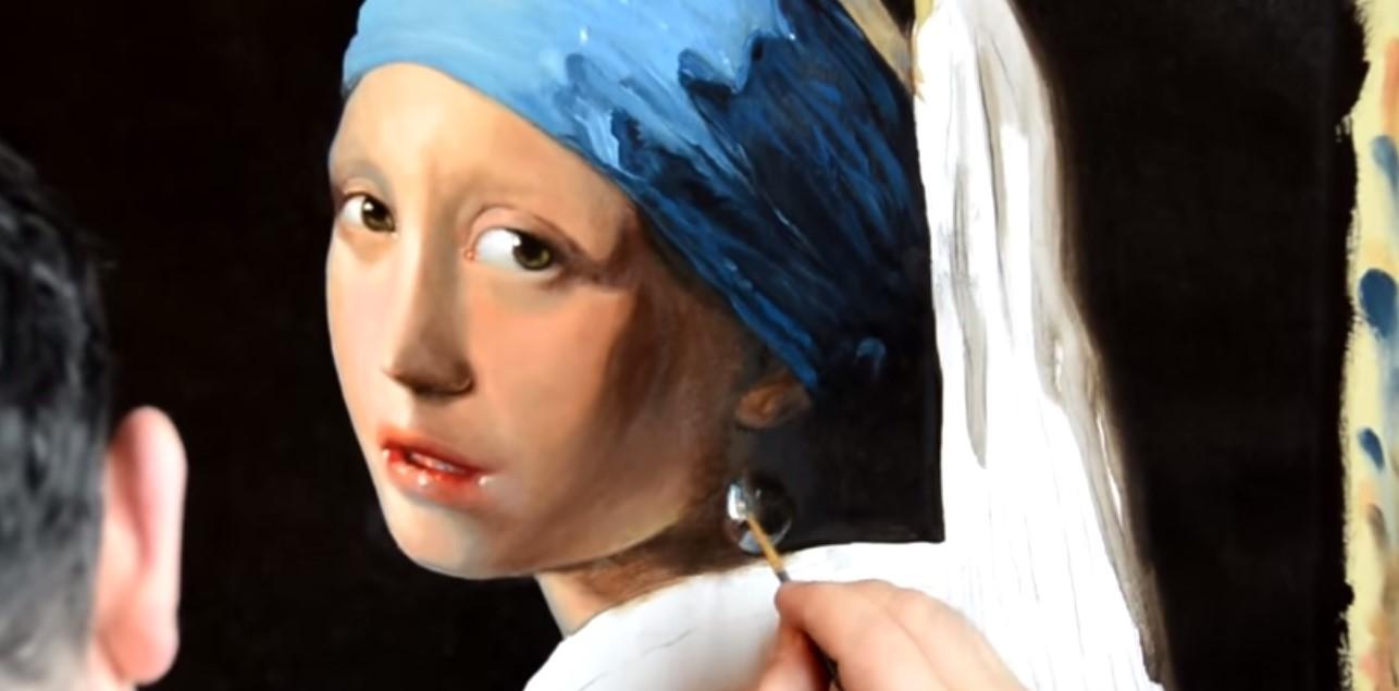 Come dipingere La ragazza con l'orecchino di perla