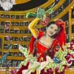 Dario Fo dipinge Maria Callas al Palazzo Forti di Verona