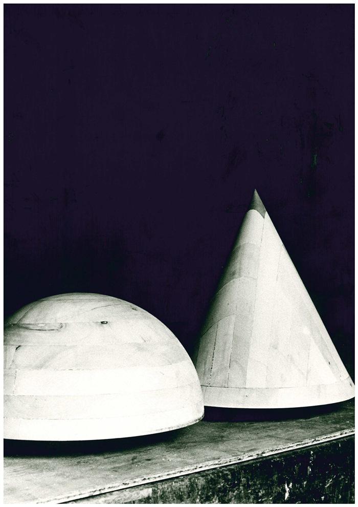 Oswald Mathias Ungers, particolari del prototipo di Cabinet Tower, 1985