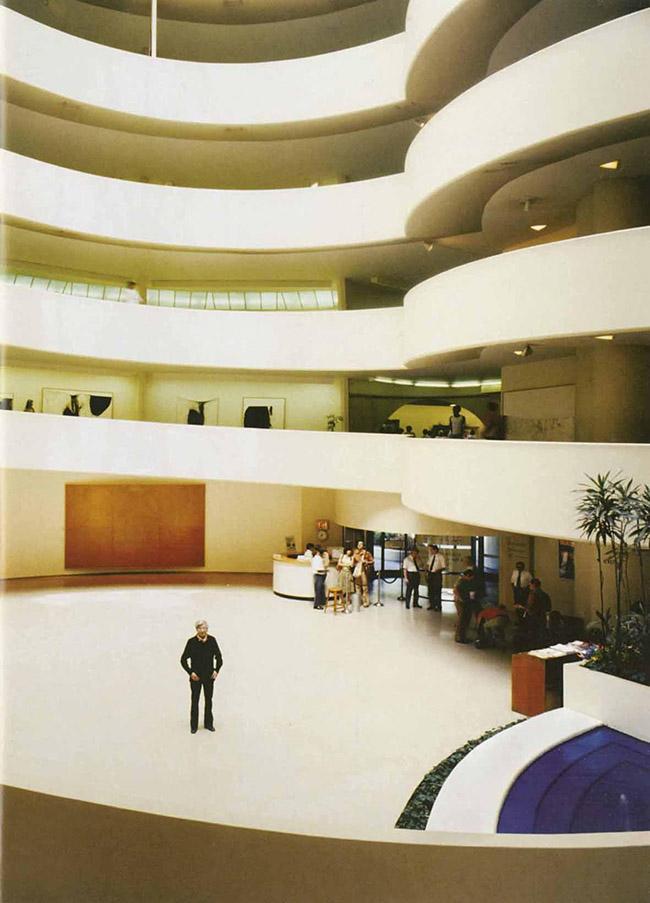 Alberto Burri, The Solomon R. Guggenheim Museum, New York, 1978 (Foto di Aurelio Amendola)