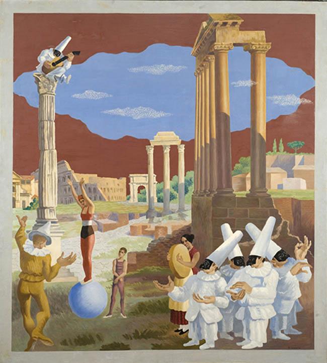 Gino Severini, L'equilibriste, 1928 Collezione MPS Toscana '900 Da Rosai a Burri Percorsi inediti tra le collezioni fiorentine Firenze, Villa Bardini 3 ottobre – 10 gennaio 2016