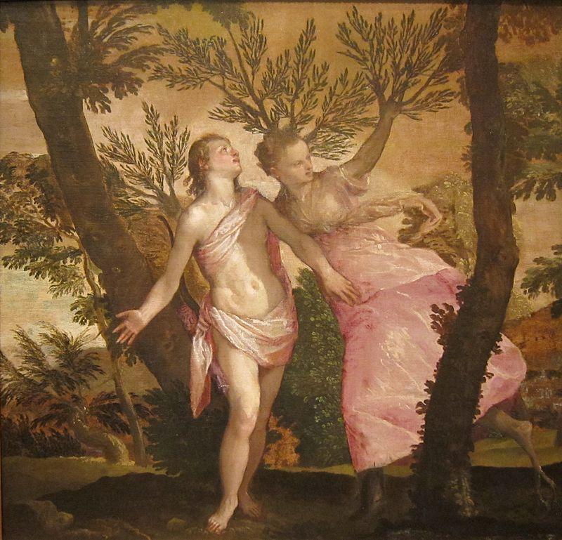 Apollo e Dafne, di Paolo Veronese
