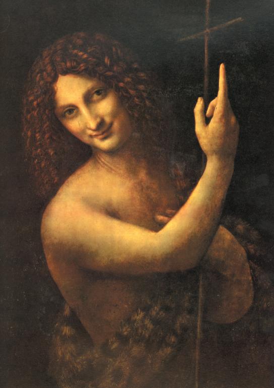 """Leonardo, """"San Giovanni Battista"""""""