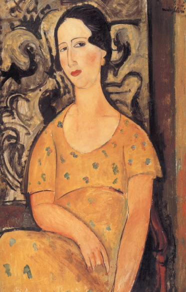"""""""Donna con vestito giallo (Madame Modot)"""""""