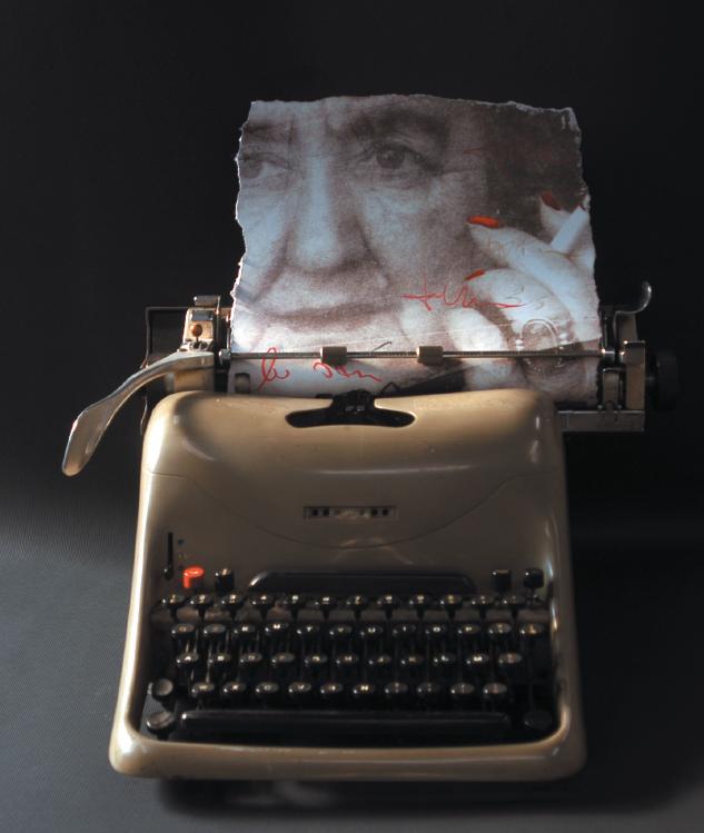 Una delle fotografie  che Giuliano Grittini ha dedicato ad Alda Merini