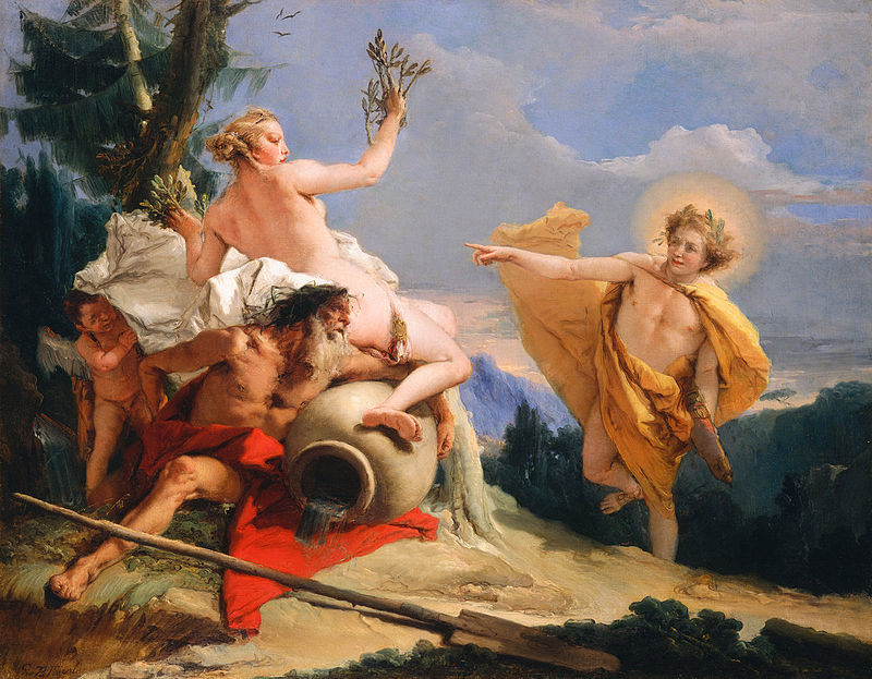 Giambattista Tiepolo, Apollo insegue Dafne