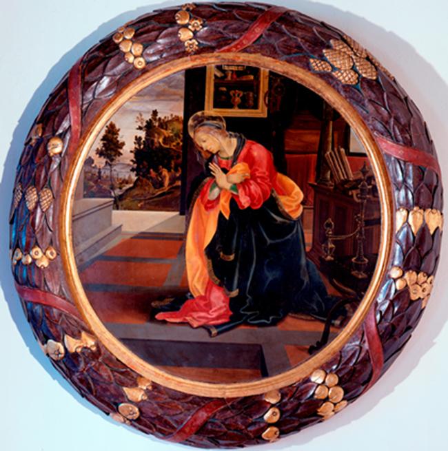 Filippino Lippi Annunziata, 1483-84. San Gimignano, Civici Musei, Pinacoteca. Filippino Lippi Virgin Annunciate, 1483-84. San Gimignano, Civici Musei, Pinacoteca