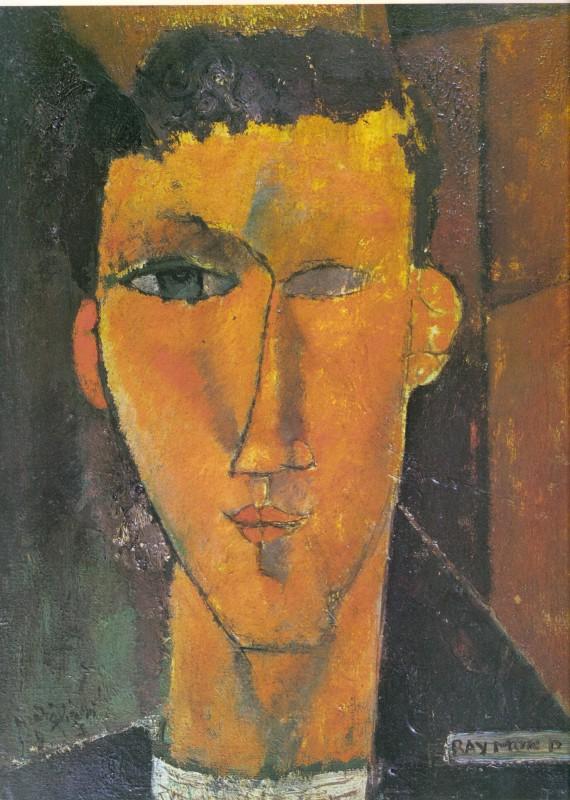 Amedeo Modigliani, Ritratto di Radiguet, 1915. Il futuro scrittore aveva dodici anni