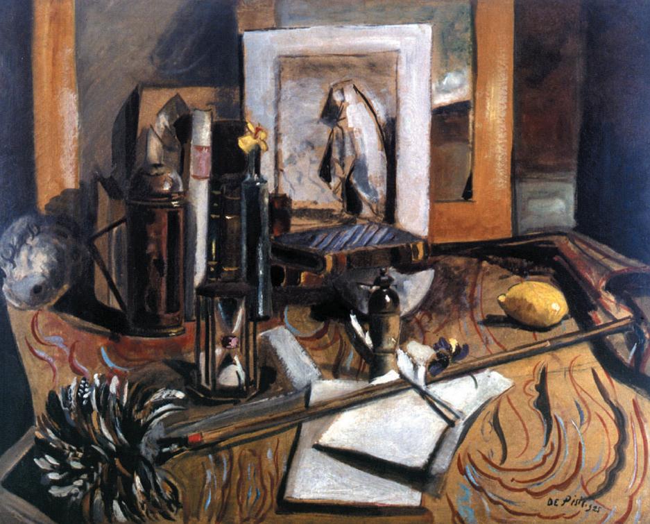 """""""Natura morta con capriccio di Goya"""", 1925"""