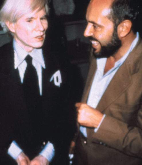 Andy Warhol con Fiorucci