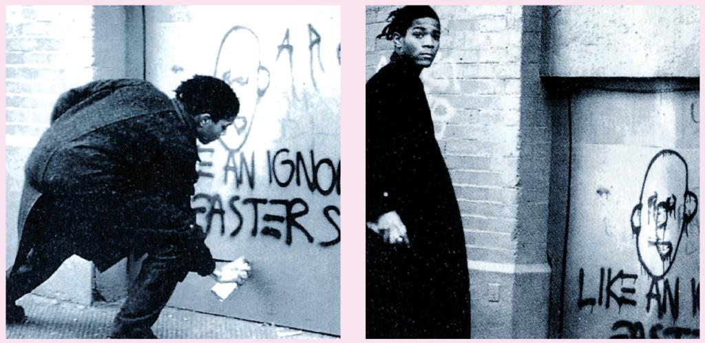 """Jean-Michel Basquiat in due sequenze del film """"New York Beat (Down Town '81)"""""""