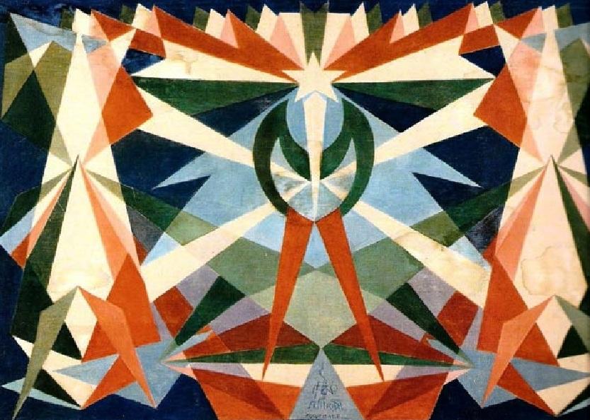 Un dipinto futurista di Giacomo Balla