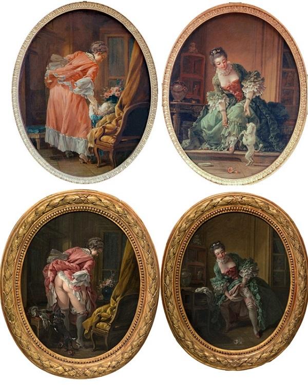 Dipinti di Boucher