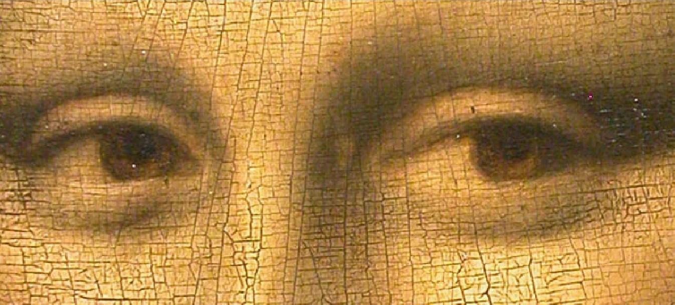La craquelure della Gioconda di Leonardo da Vinci