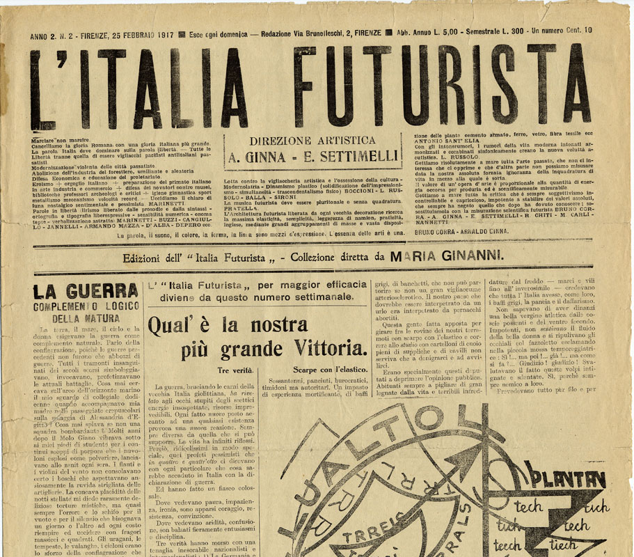 italia futurista