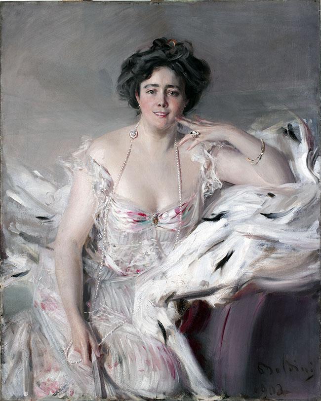 Giovanni Boldini, Ritratto di Lady Nanne Schrader (Nata Wiborg), 1903 Olio su tela, 120 x 94,5 cm