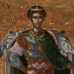 Compra icona ad asta on line, durante la pulitura emerge firma di El Greco