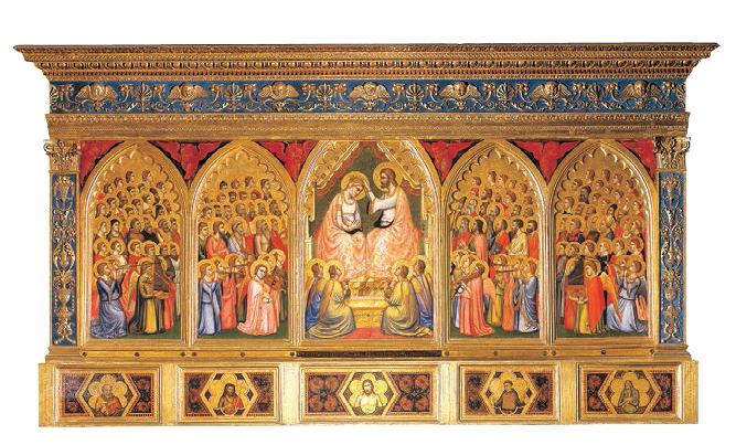 Polittico Baroncelli 1330 ca Tempera su tavola Firenze, Basilica di Santa Croce Proprietà Fondo Edifici di Culto del Ministero dell'Interno Archivio fotografico dell'Opera di Santa Croce