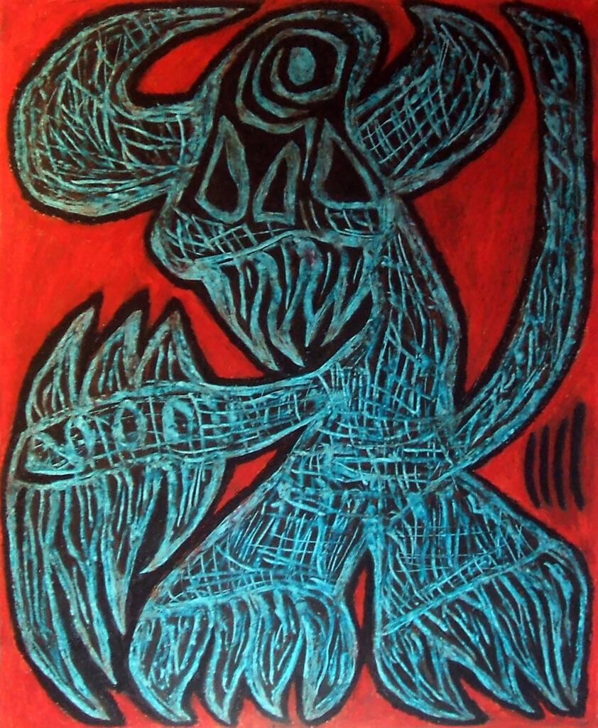 gargano demone fosco (2015) 58x48cm