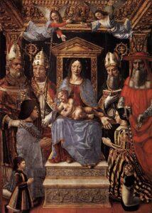 Fig. 2 Maestro della Pala Sforzesca - Pala sforzesca - 1494, Milano, Brera