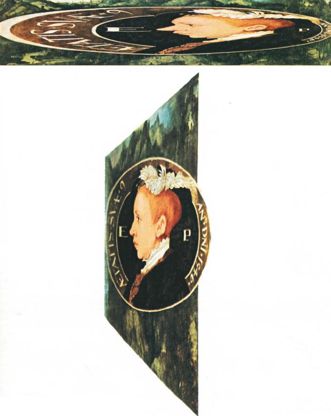 """""""Ritratto anamorfico di Edoardo VI"""", 1546"""