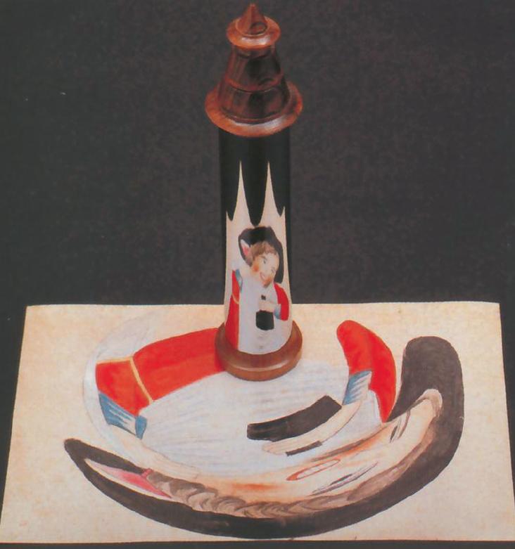 Nelle foto: anamorfosi con proiezione cilindrica, Fondazione Mazzotta