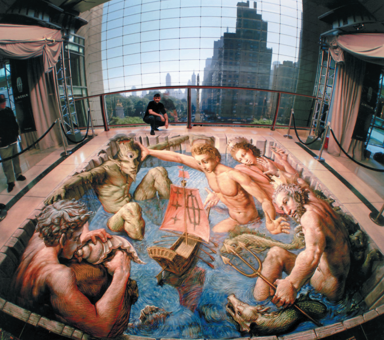 """""""Voyage of Ulysses"""", Time Warner Center, Central Park, New York"""