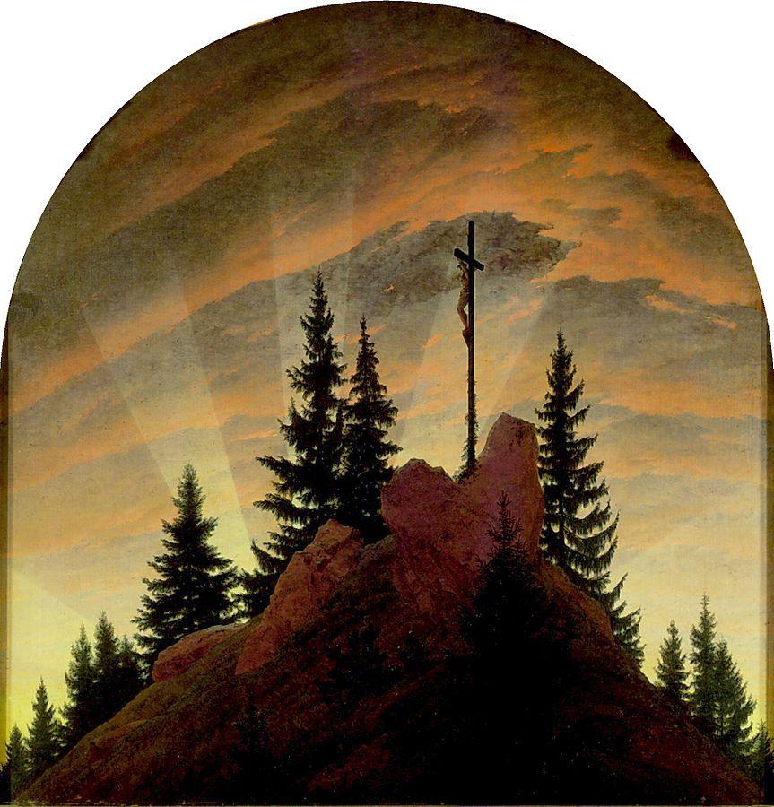 La Croce in montagna, 1808
